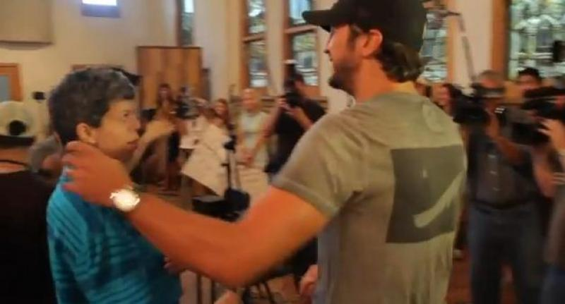 ACM Lifting Lives Music Camp 2012 - Recording Session with Luke Bryan and Paul Worley